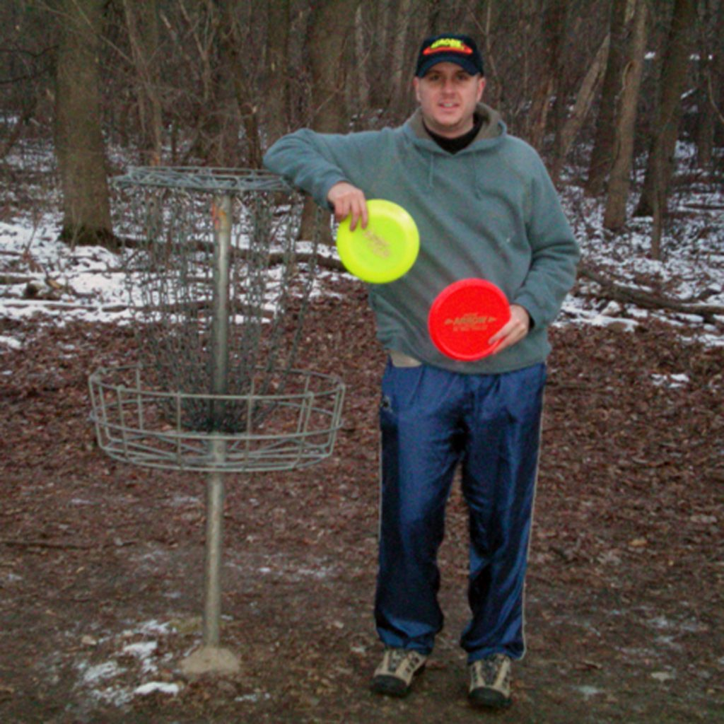 Kevin Morgan of Northville MI with Epic and Arrow discs